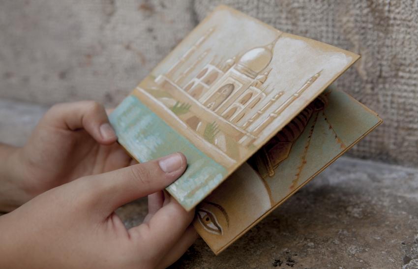 Cuaderno de viaje a la india