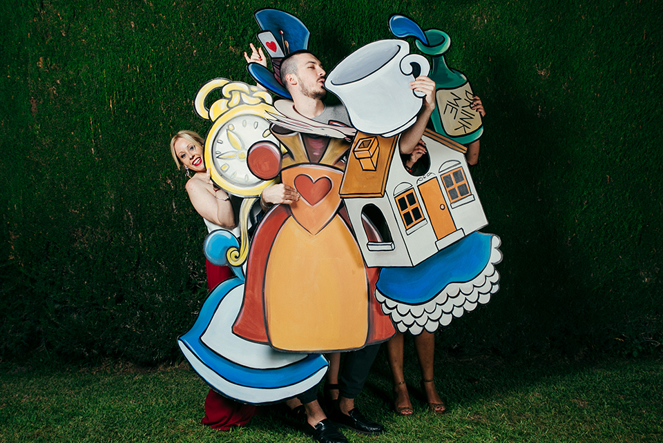 Alice in Wonderland Photocall