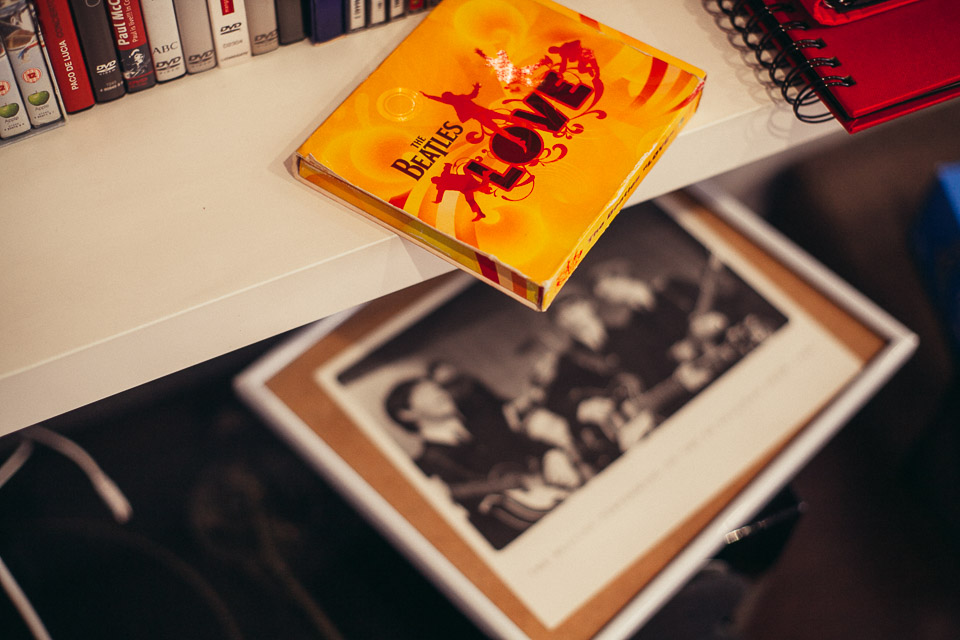 09 discos de the beatles