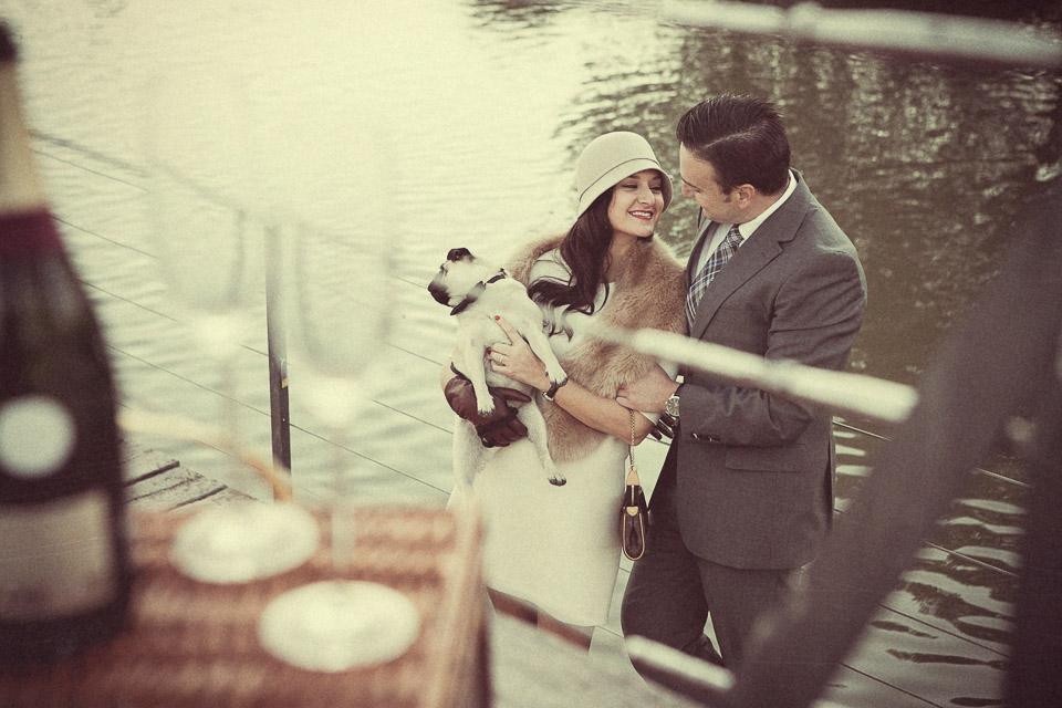 12 amor en lago parque valencia