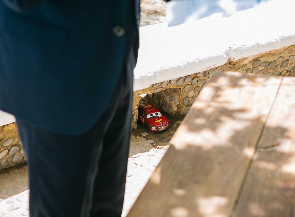 20 juguete cars en una boda