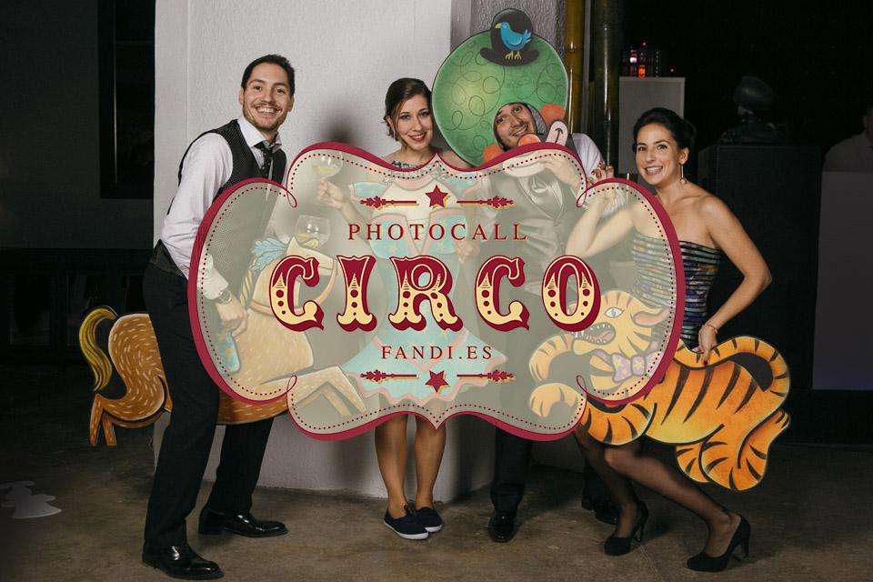 Photocall de circo: ¡Pasen y vean el espectáculo!