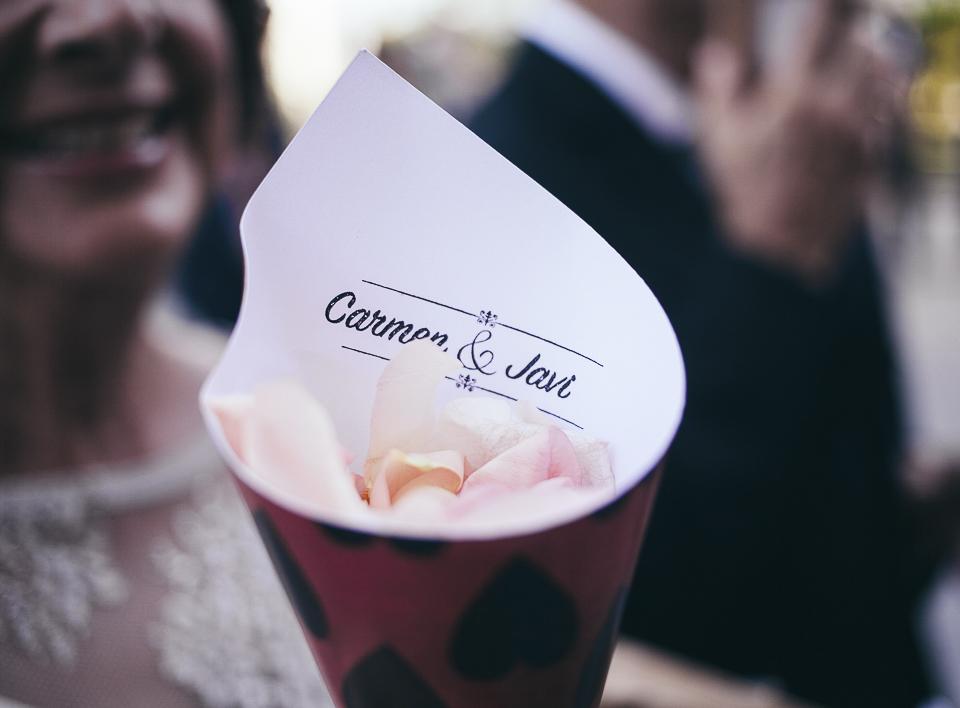 24 petalos para lanzar en boda