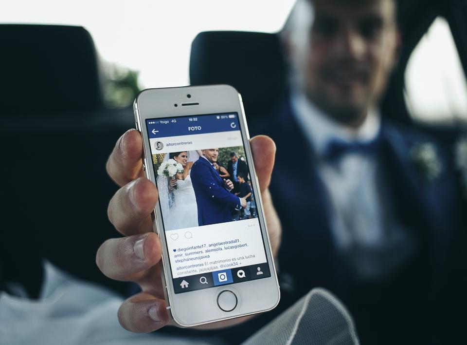 32 foto de instagram boda