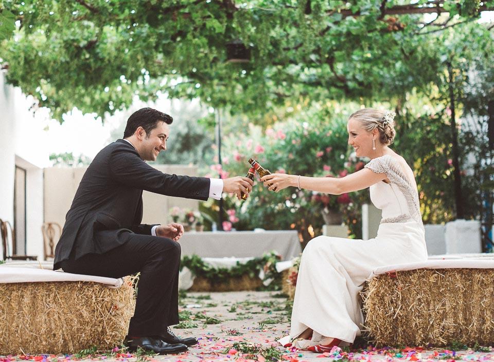 Una boda con mucha fiesta