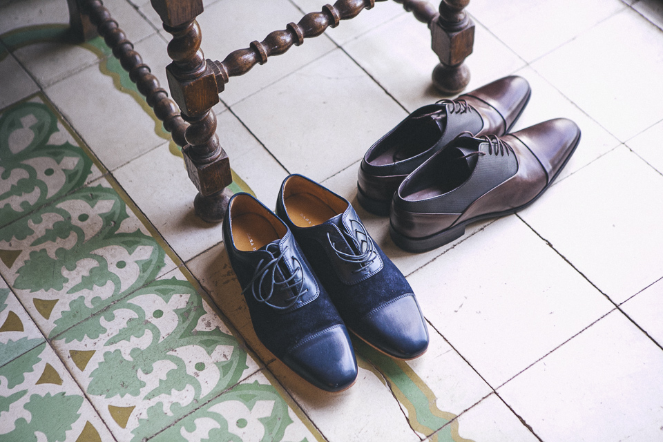 03 zapatos de pareja de novios