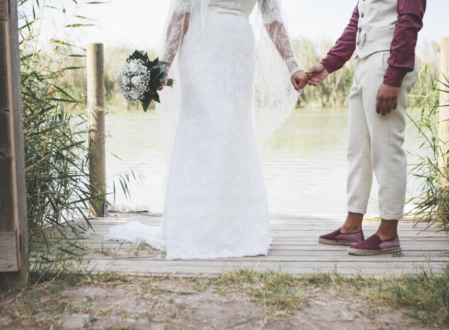17 ramo novios manos boda albufera