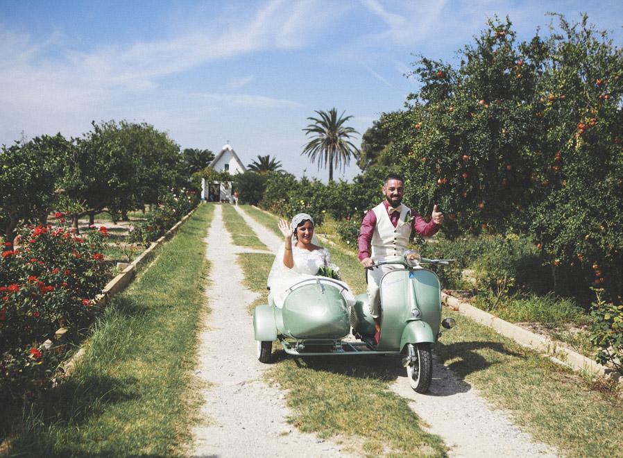 Una boda en La Albufera