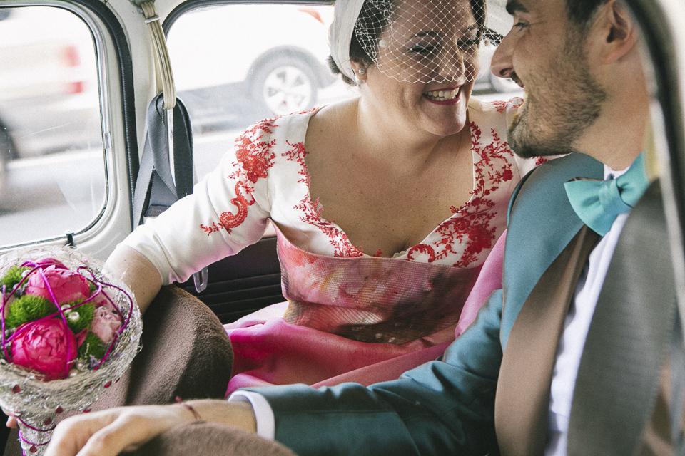 20 coche seat 600 con novios