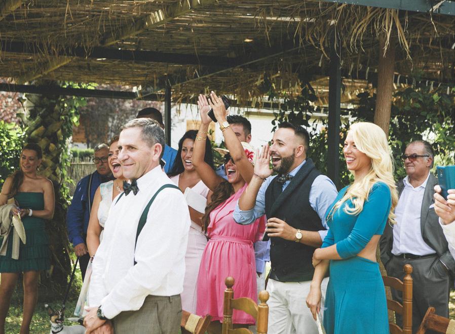 22 amigos gritos risas boda fandi