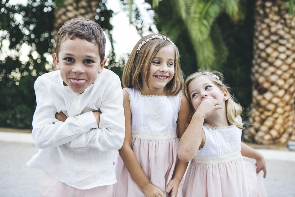 24 niños simpáticos de boda