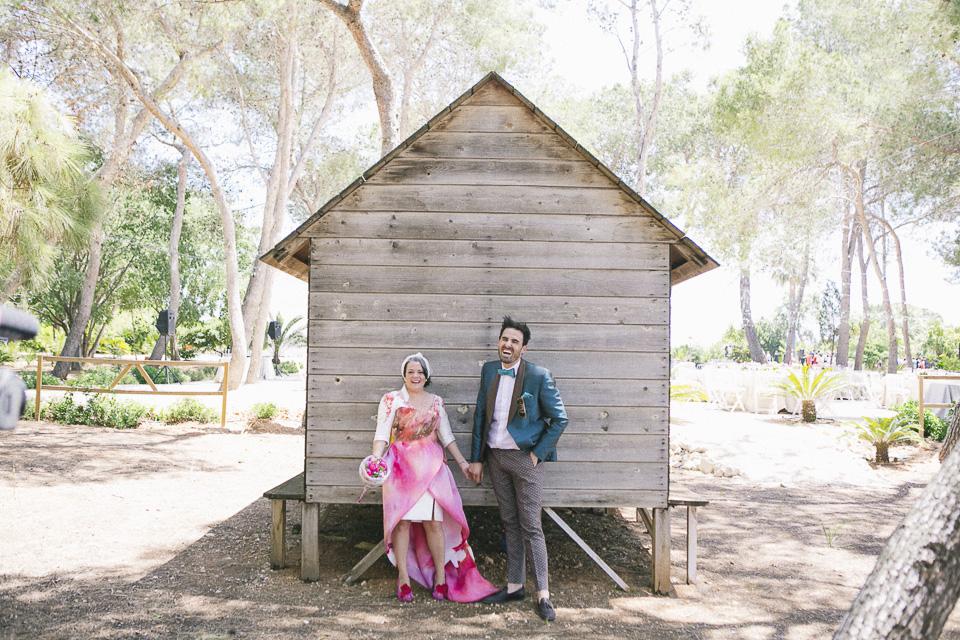 Una boda llena de color