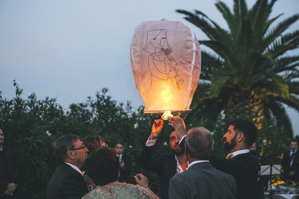 39 globo de papel en boda