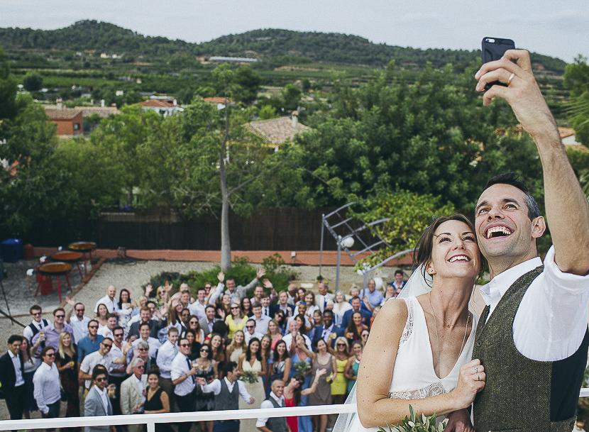 43 selfie en la boda