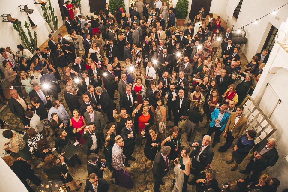 46 invitados masia aldamar de boda