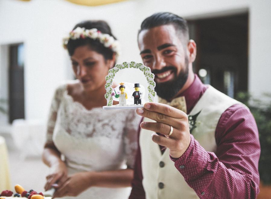 48 lego tarta novios boda fandi