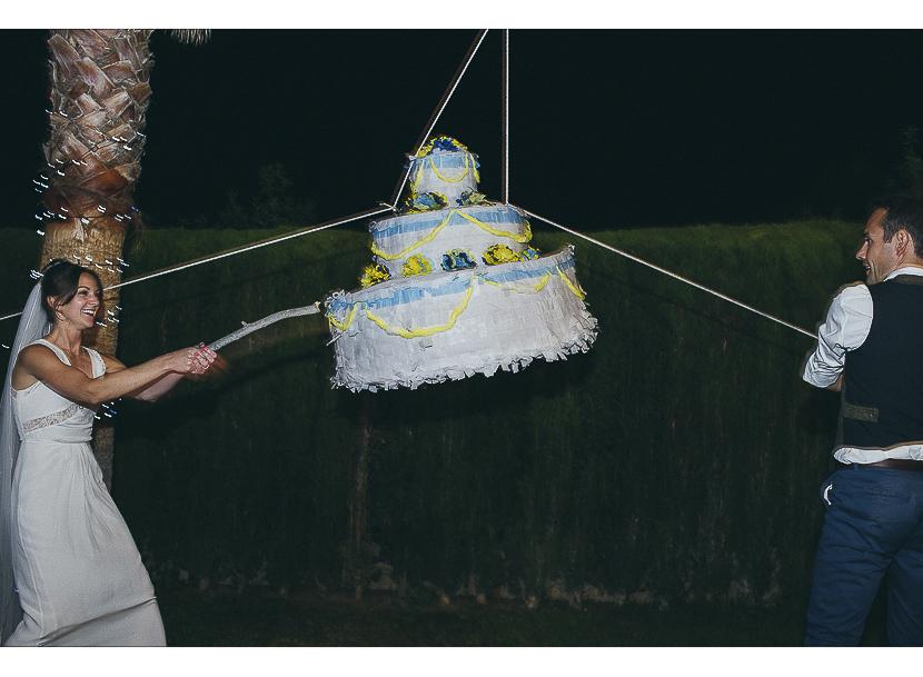 48 tarta de boda piñata