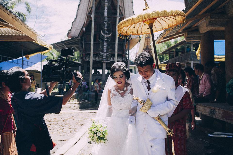 Una boda en Indonesia
