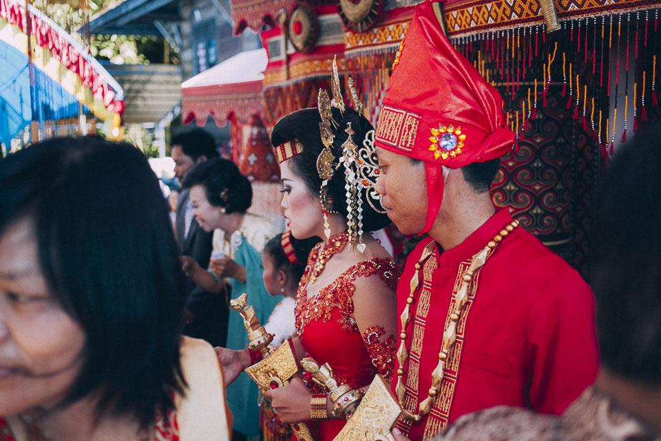 58 pareja de novios Sulawesi