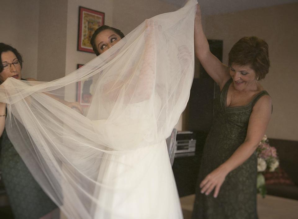 fotos divertidas de vestimenta de novia