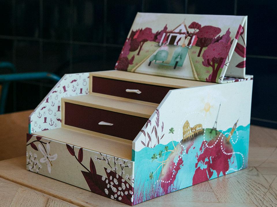 caja-de-bodas-ilustrada