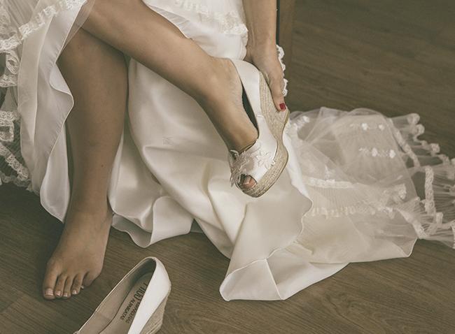 espardenas para novia