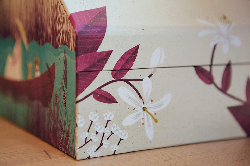 flores-de-la-caja-de-boda-y-viajes