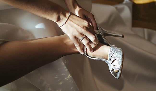 Los zapatos de novia pueden ser cómodos