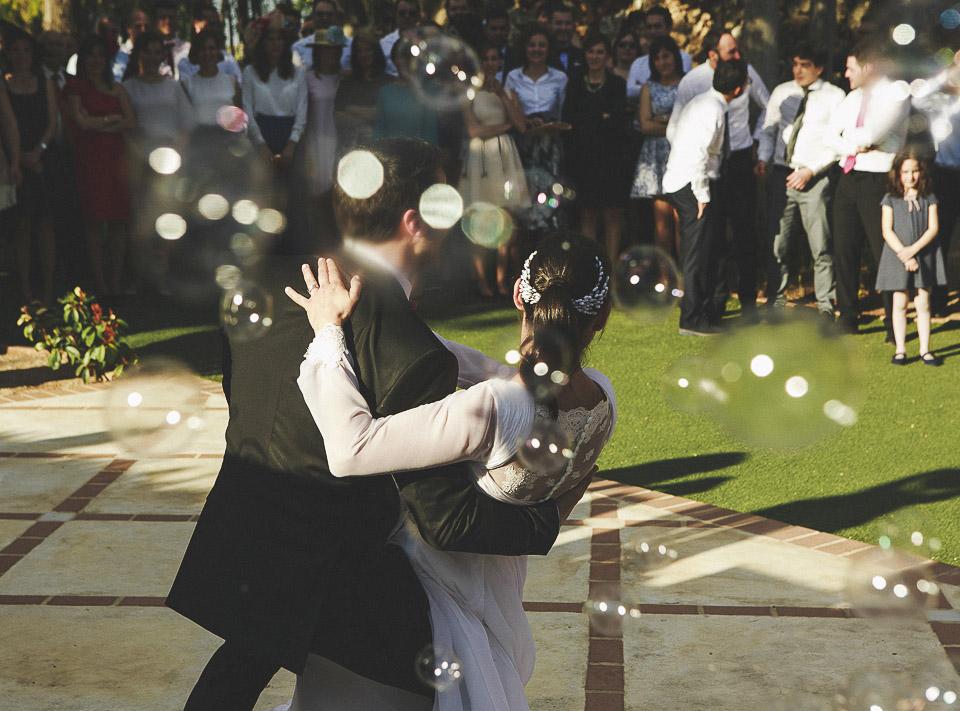 77 baile de novios con pompas de jabon villadelia