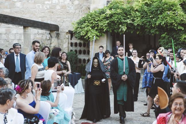 16 custodia llevando anillos star wars boda fandi