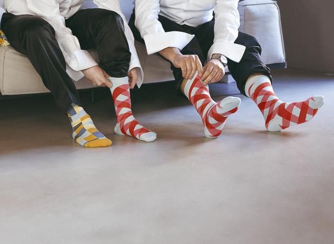 01 calcetines divertidos para novios simpaticos