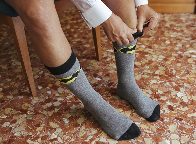 07 calcetines de batman para novio