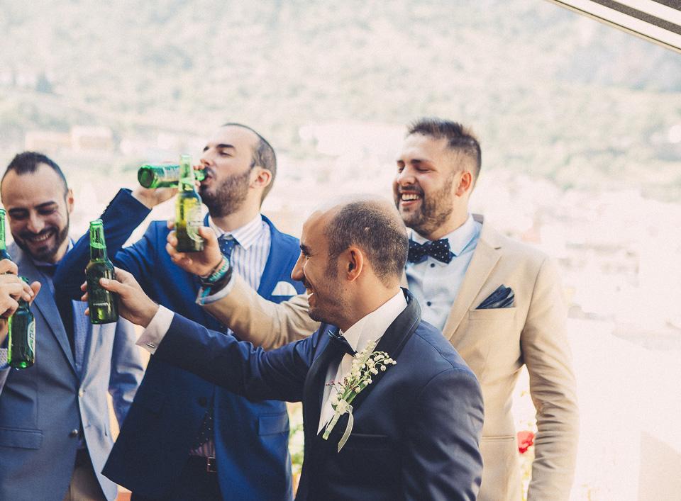 10 brindis con cerveza en boda