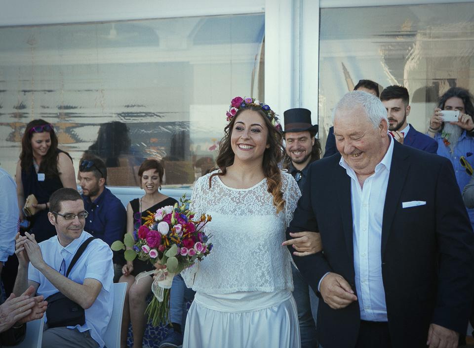 102 novia llegando a ceremonia