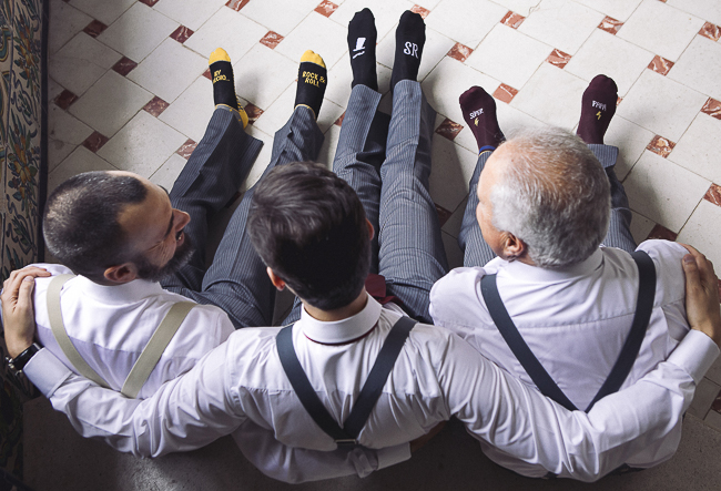 11 calcetines con mensaje