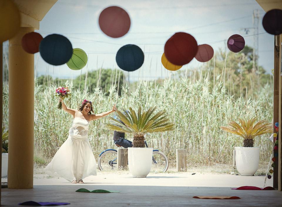 11 llegada de novia al estibador el saler valencia