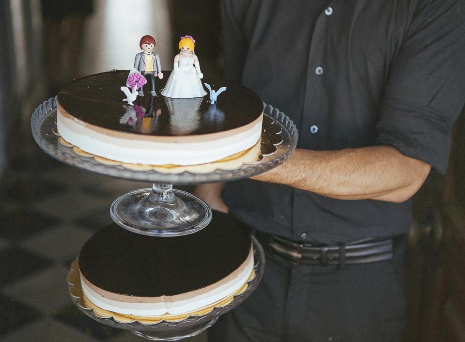 114 tarta con figuras playmobil