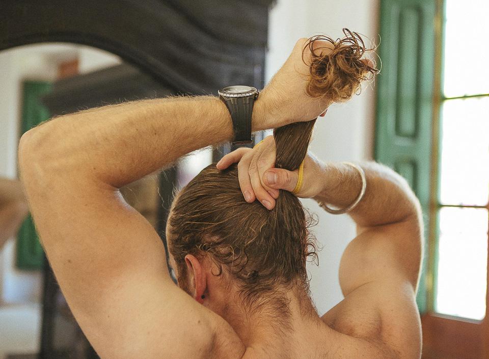 23 peinado de novio con coleta