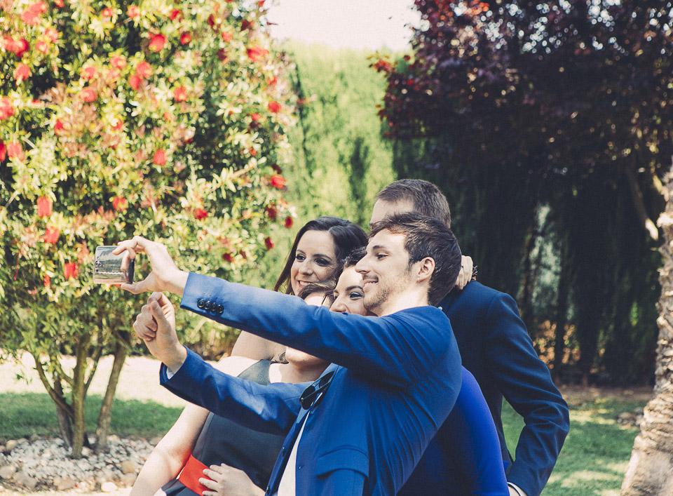 28 selfie en boda