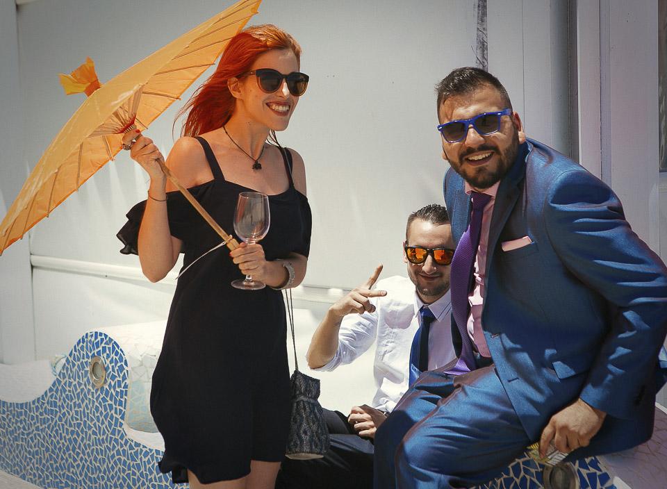 30 sombrillas para el calor en boda de dia