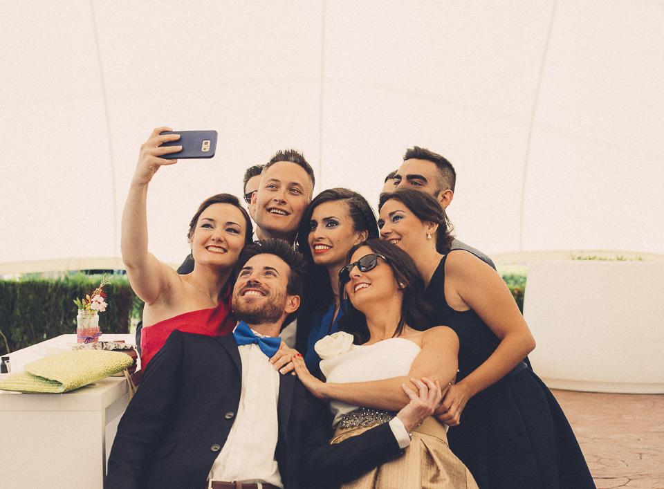 66 selfie invitados de boda