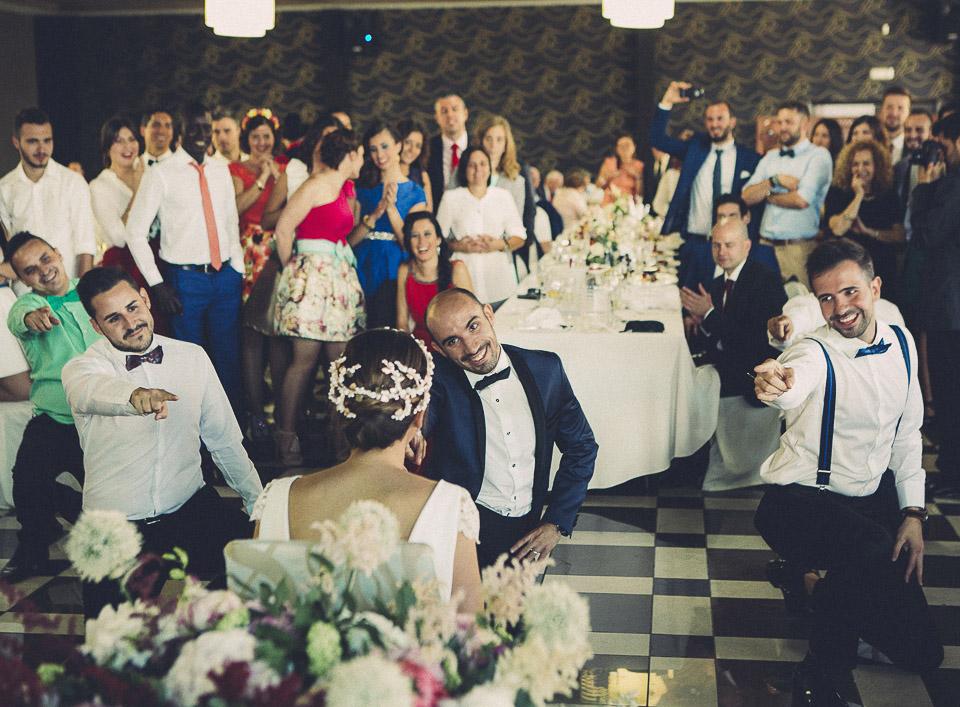 88 Una boda con FlashMob sorpresa para la Novia