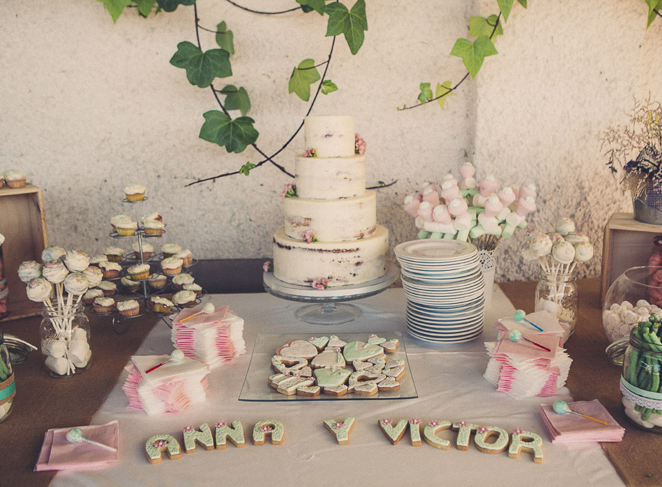 98 tarta y dulces en boda