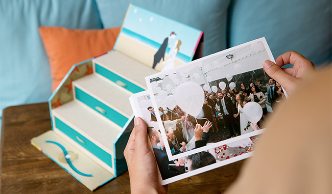 Caja fandi, una alternativa al álbum de fotos