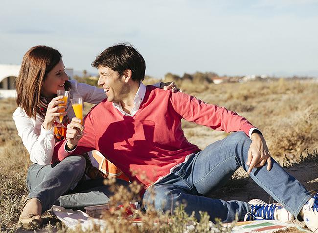 10 preboda en la playa con zumo natural