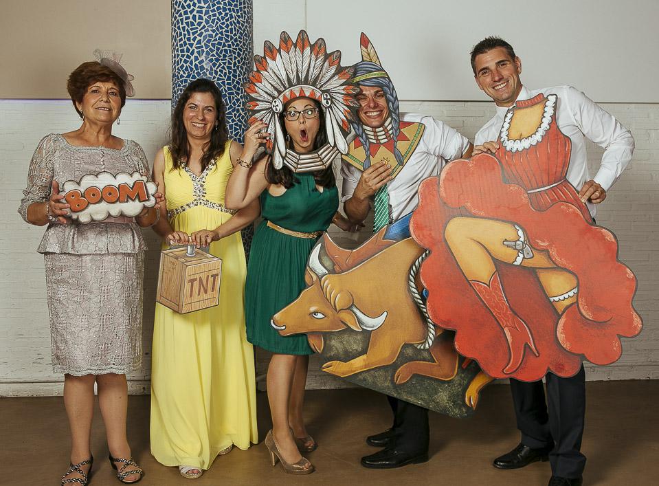 19 photocall fandi indios y vaqueros