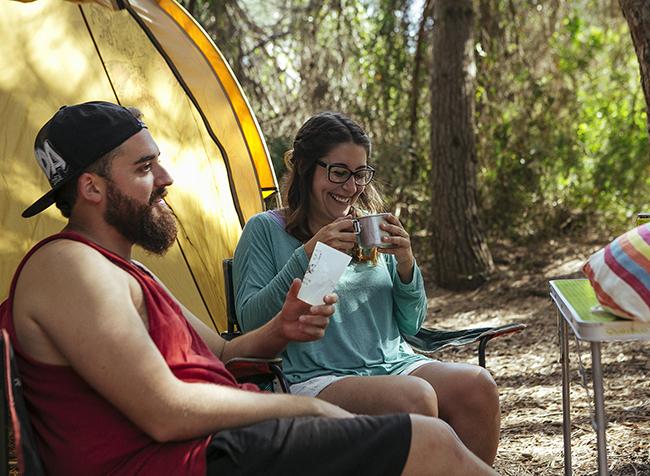 20 picnic de acampada con cubatas