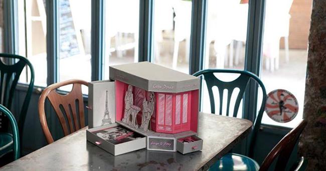 caja-de-fotos-de-boda-inspirada-en-cafeteria-francesa