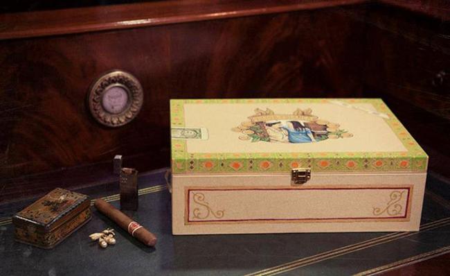 caja de fotos de boda-inspirada-en-caja-de-puros-cubanos---fandi.es