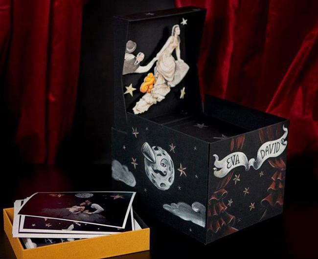 caja inspirada en Melies